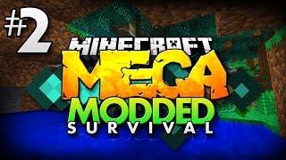Minecraft MEGA Modded Survival #2 | THE BIG BACKPACK - Minecraft Mod Pack