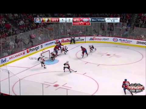 Montreal Canadiens vs Ottawa Senators ECQF Game 2 Highlights