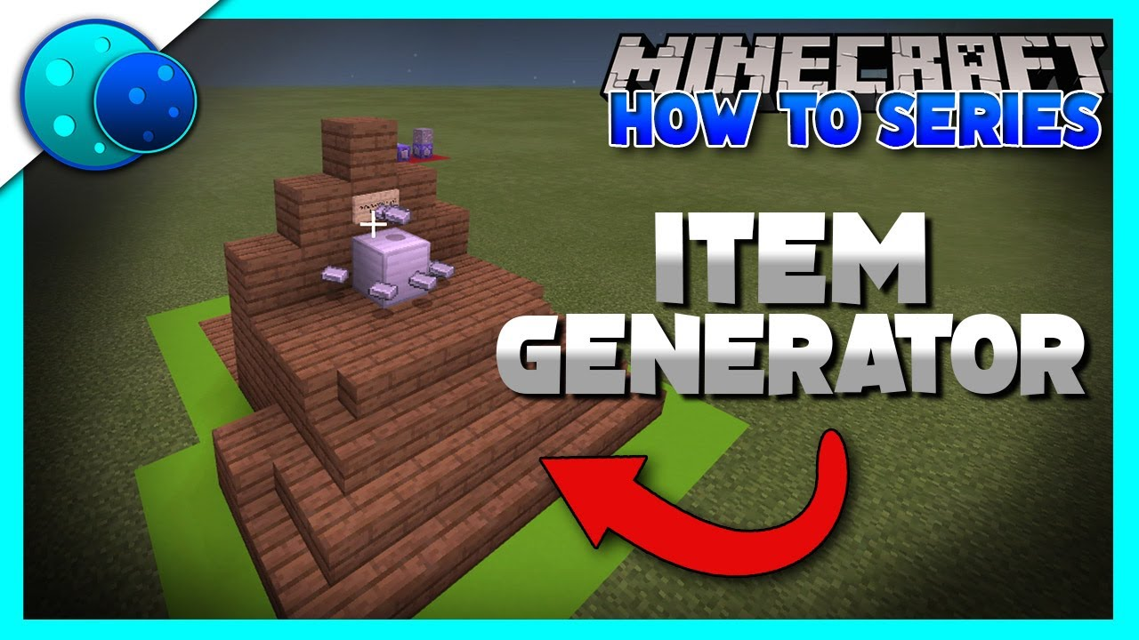How To Make An Item Generator Using Commands On Minecraft Bedrock