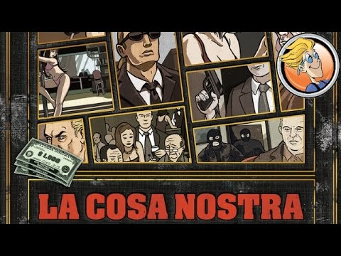 La Cosa Nostra — game overview at SPIEL 2016 by Quined Games