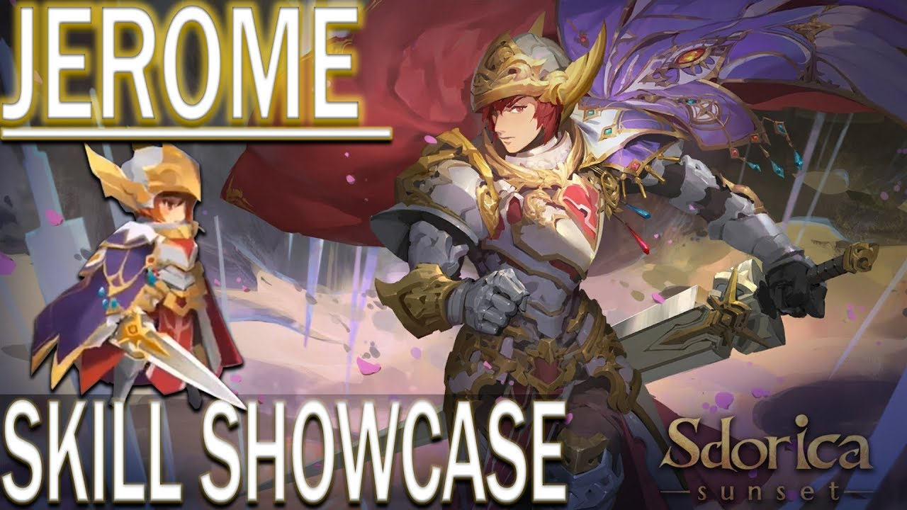《Sdorica》Jerome Skill SHOWCASE