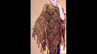 Как связать такую шаль Смотрите. How to knit this shawl.