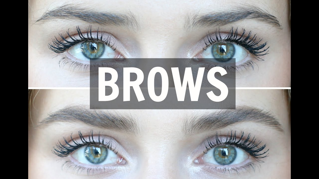Easy Eyebrow Tutorial  Naturally Filled  U0026 Feathered Look