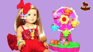 American Girl Doll Wears DIY Lalaloopsy Jewelry Fun Craft Jewelry Maker and Playset | Toys Academy
