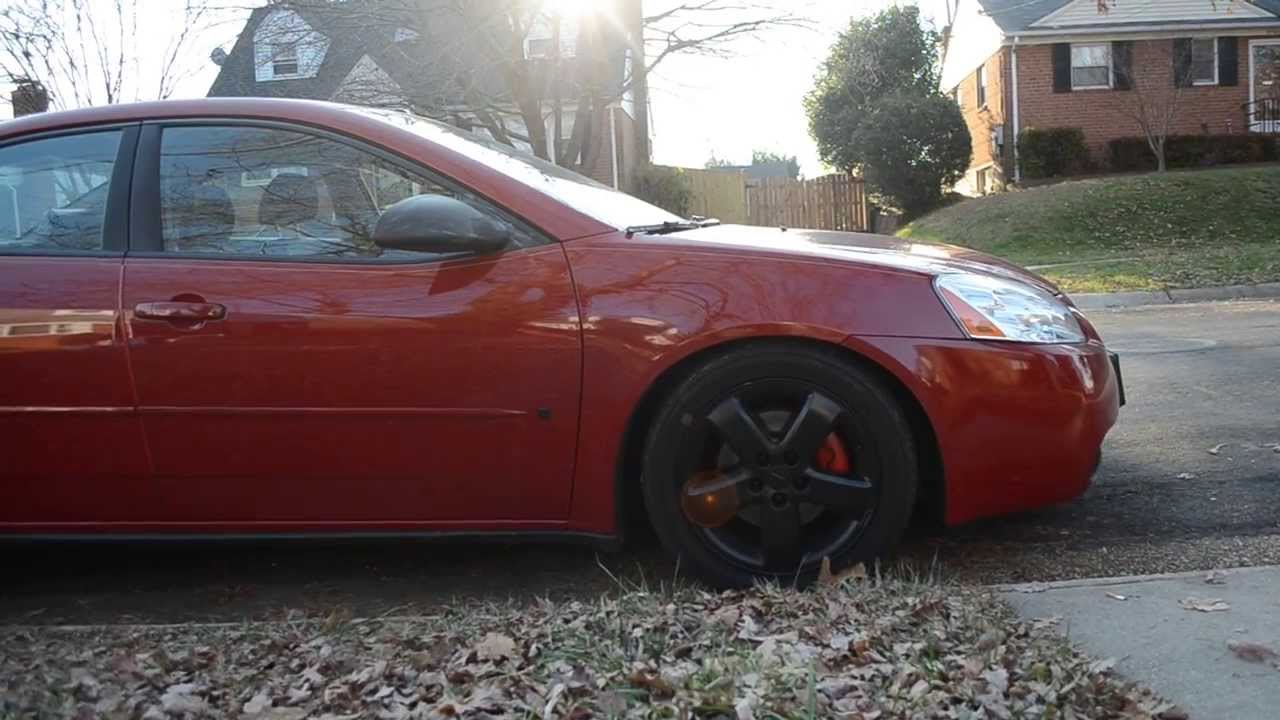 Pontiac G6 Gt Flowmaster 44 Series Drive By Youtube