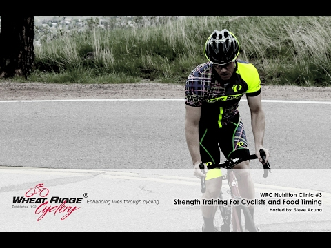 WRC Nutrition Clinic #3 -- Strength Training For Cyclists an