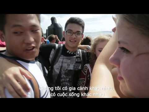 Tran Duy Kien - Winner of EF Challenge Vietnam 2015 - at Global Youth Leader Forum, New York 2015