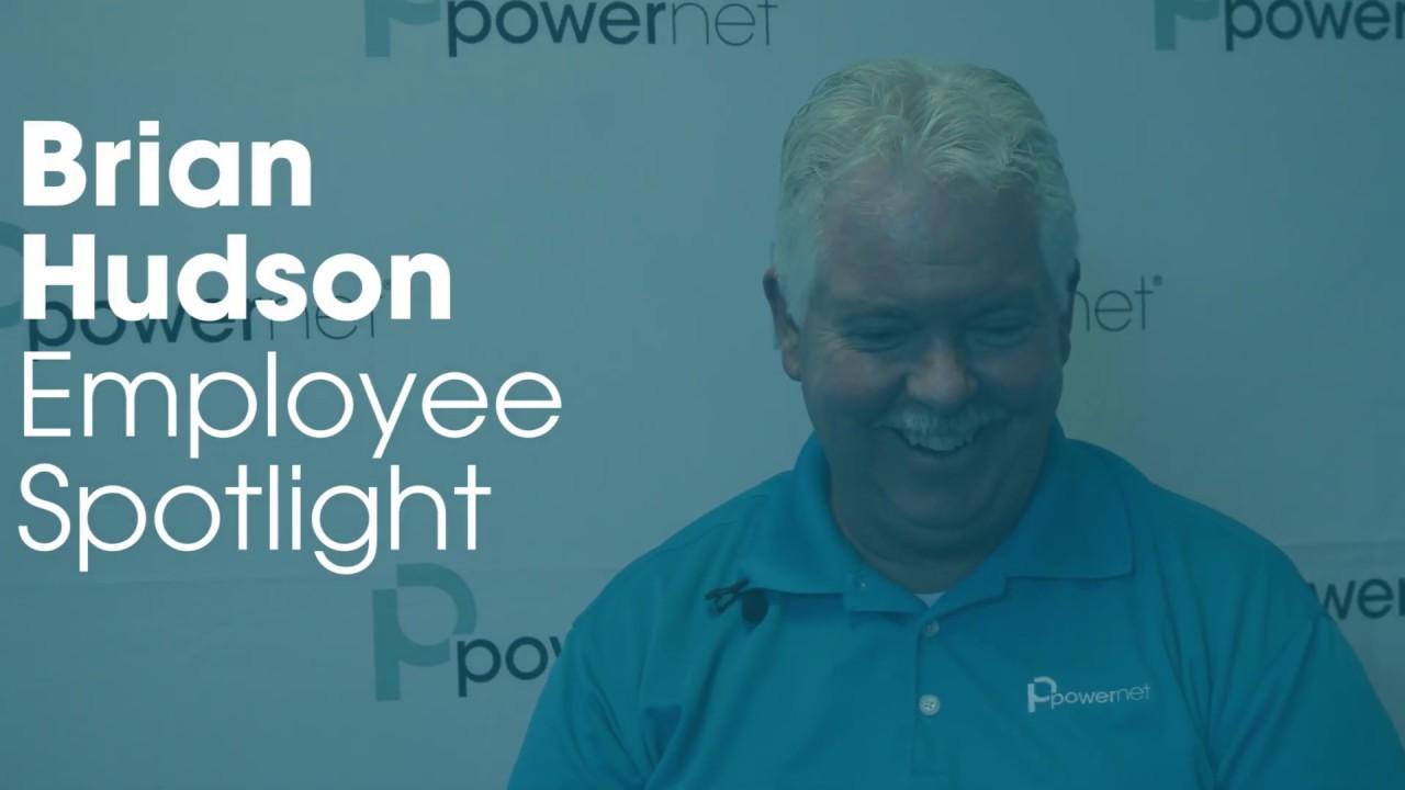 Employee Spotlight - Brian Hudson