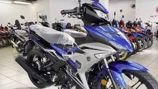 Download Yamaha Y15ZR (V2) 2021 (Malaysia) - Blue / Matt Silver