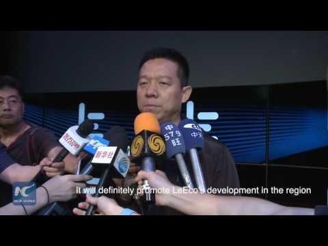 Chinese tech company LeEco aquires VIZIO