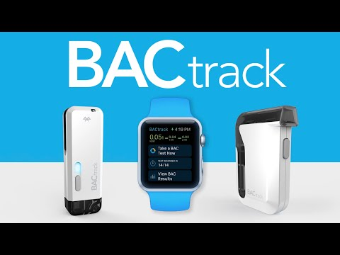 BACtrack Breathalyzers For Apple Watch