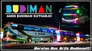 Agen Bus Budiman Kutoarjo Purworejo Hunting Deretan Bus Artisnya Budiman