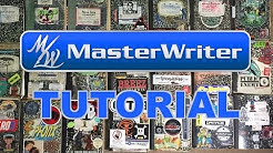 MasterWriter 3 Tutorial & Overview