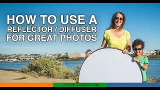 How to use a photo reflector / diffuser Thumbnail