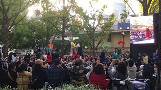 御堂筋オータムパーティー2017「御堂筋ランウェイ」荻野目洋子「ダンシ...