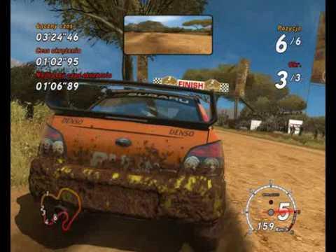 Sega Rally - prezentacja gry