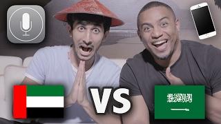 تحدي الكتابة بالصوت | فهد سال VS بن باز | انجليزي