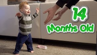 iRiSH BABY STARTS WALKiNG ON ST. PATRICK'S DAY