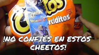 No confíes en estos cheetos X-feras Dragon Ball z   C-de Co...