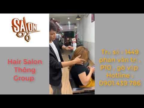 hair salon tiệm cắt tóc nữ phan văn trị tóc đẹp gò vấp