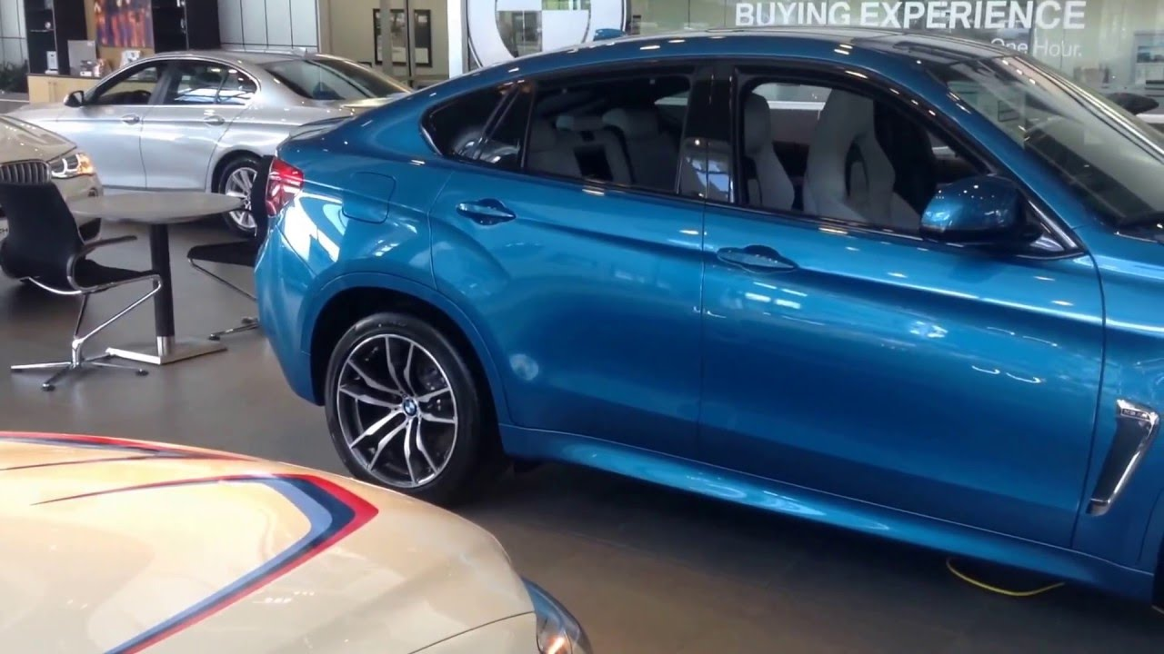 16 Bmw X6 M Blue For Jason Youtube