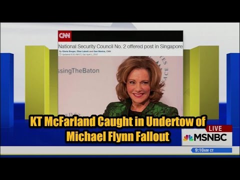 KT McFarland Caught in Undertow of Michael Flynn Fallout