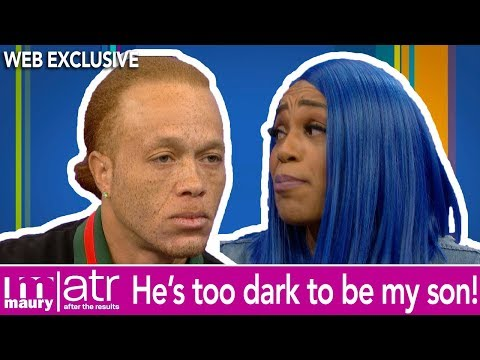That Boy Is Too Dark To Be My Son!   After The Results   The Maury Show