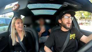 Uber Driver Raps Godzilla!