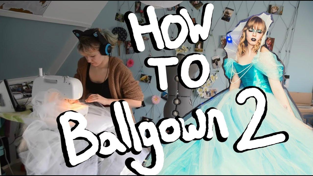 Ballgown making | Progress log #2 | Petticoat - YouTube