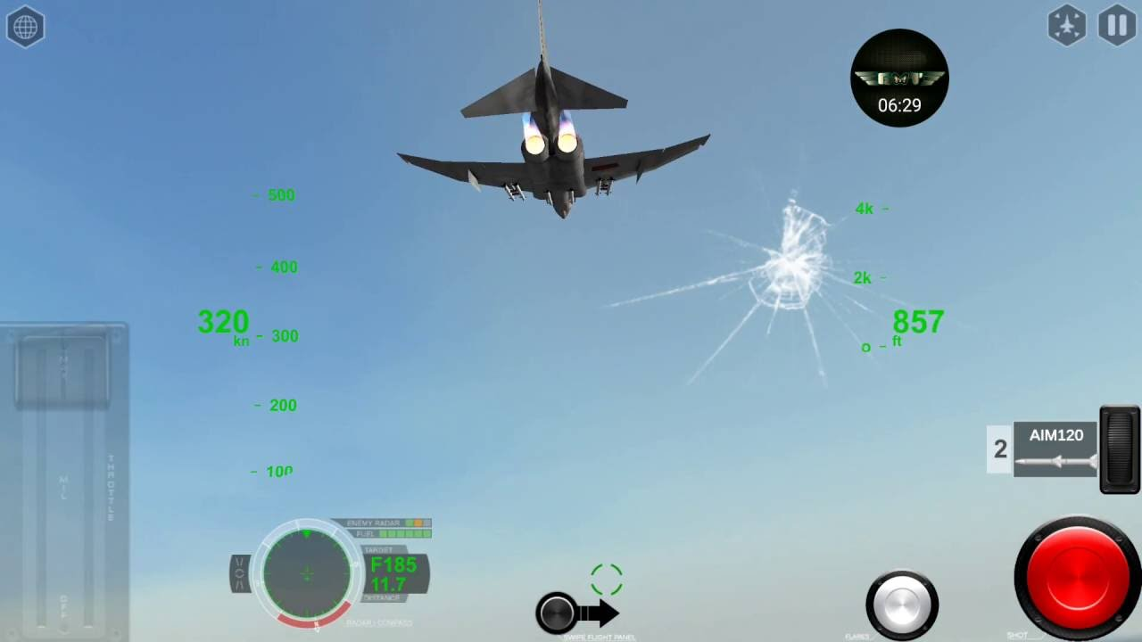 Air Fighters Pro by Rortos - F4E Phantom II - Dogfighting till the end