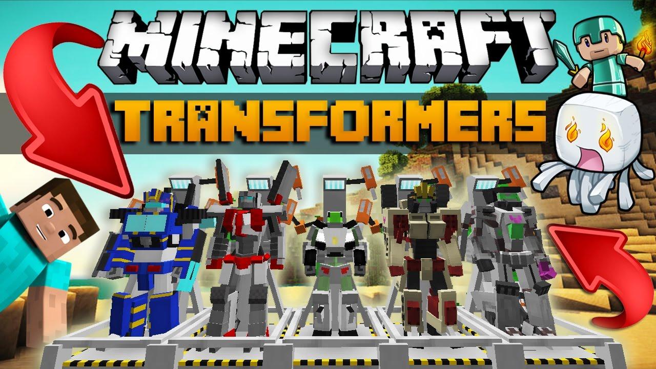 Transformers mod - ру Майнкрафт -скачать ...