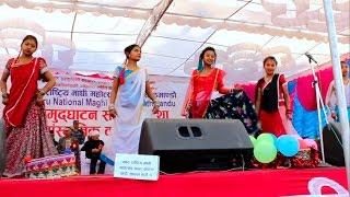 beautiful tharu dance    tharu maghi mahotsav 2072
