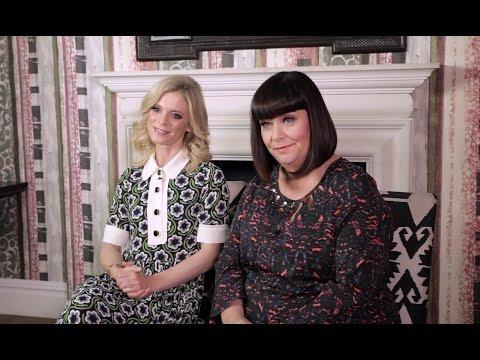 5 minutes with Dawn French & Emilia Fox