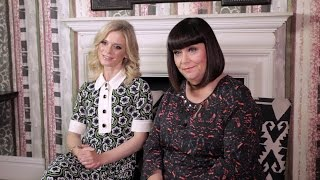 5 minutes with Dawn French & Emilia Fox