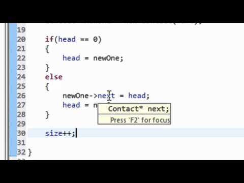 Data Structures Using C++: Linked List Implementation Part II (List Class)