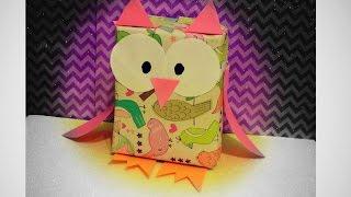 DIY Owl Gift Wrap Thumbnail