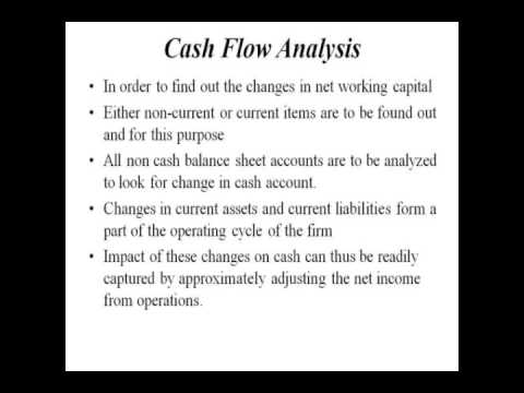 Introduction to Cash Flow Analysis Finance Homework Help by