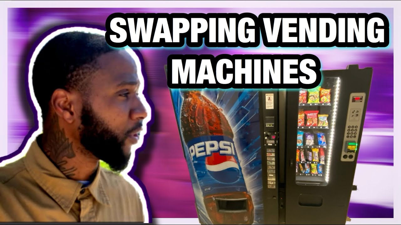 PLACING 2 VENDING MACHINES IN MY WAREHOUSE LOCATION