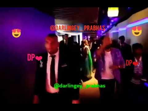 Prabhas & Anushka - Dubai promotions   Pranushka moments   Darling and Sweety   bahubali promotions