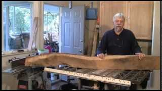 Dressing Rough Lumber  - A Woodworkweb.com Woodworking Video