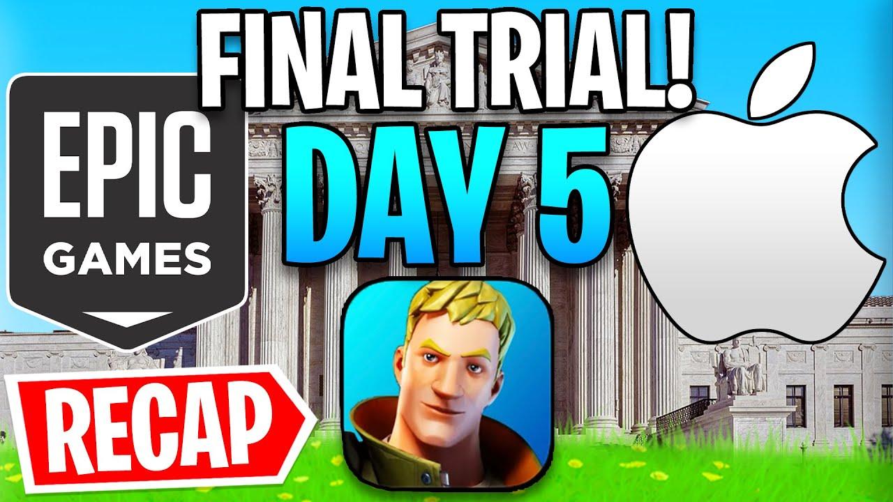 Fortnite vs. Apple Day 5 Recap! - Judge Picks a Side...