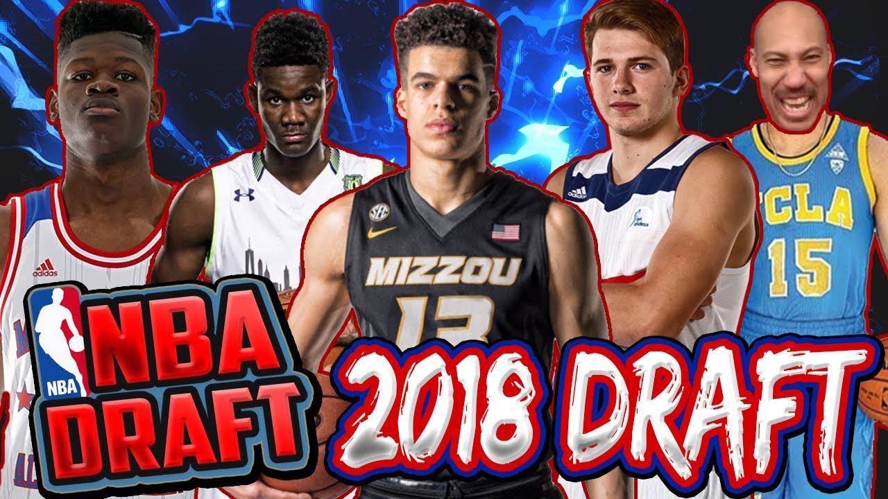 2018 NBA MOCK DRAFT- MICHAEL PORTER JR, COLLIN SEXTON ...