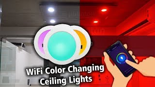 Phlipton WiFi Smart RGBW Color Changing Led Ceiling Lights