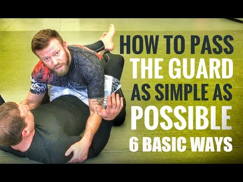 Jiu-Jitsu Guard Passes | 6 Basic but Effective Guard Passes for Gi or No Gi