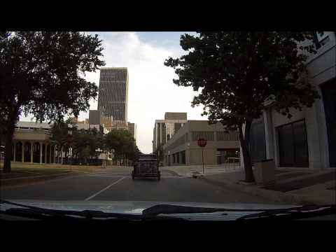 """Drive tour Downtown Oklahoma City"""