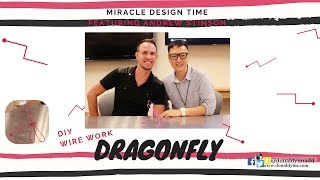 HOW TO MAKE | Dragonfly with aluminum wire | MIRACLE DESIGN TIME