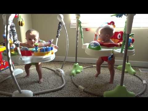 Rainforest Jumperoo Identical Twins