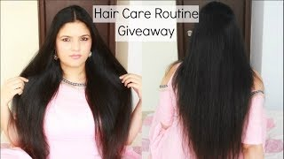 My Hair Care Routine for Long & Healthy Hair | Indian Hair Care Secrets + Giveaway| InsideBeautyNo1