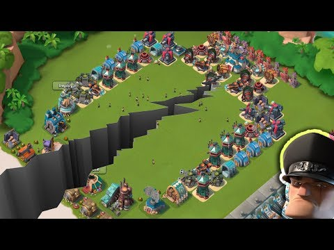 Divide Base vs Hammerman Defense Event | Split The Troops | Boom Beach