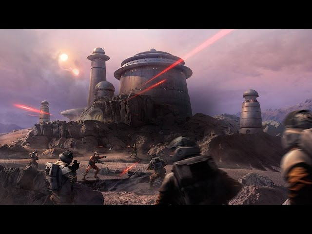 Star Wars Battlefront : Bordure Extérieure - Trailer de gameplay